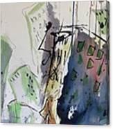 Uptown Canvas Print