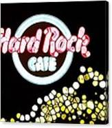 Urban Abstract Hard Rock Cafe Canvas Print