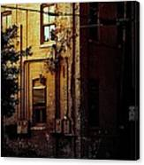 Urban Alley Canvas Print