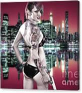 Urban Angel 7.0 Canvas Print