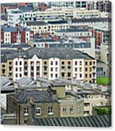 Urban Buildings Of Dublin Canvas Print