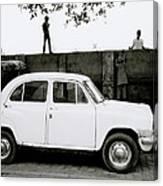 Urban Calcutta Canvas Print