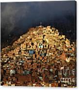 Urban Cross 2 Canvas Print