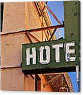 Urban Decay In Hollywood Canvas Print