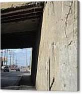 Urban Decay Train Bridge 2 Canvas Print