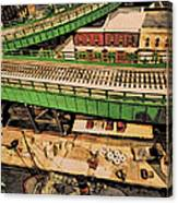 Urban Dock Canvas Print