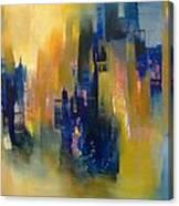Urban Echoes Canvas Print