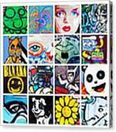Urban Faces Canvas Print