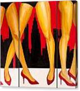 Urban Heels Canvas Print