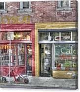 Urban Mercyseat Oil Painting Canvas Print