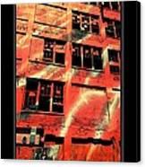 Urban Orange Canvas Print