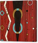 Urban Petroglyph Series Number 7 Canvas Print