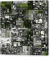Urban Scene Going Green Canvas Print