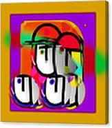 Urban Spaceman Canvas Print