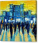 Urban Story - The Romanian Revolution Canvas Print