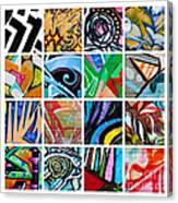 Urban Street Art Canvas Print