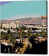 Urban West Expanded Canvas Print