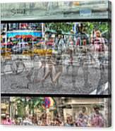 Urbanatomy - Flow Canvas Print