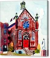 Ursuline II Sanctuary Canvas Print