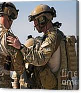 U.s. Air Force Pararescue Jumpers Canvas Print