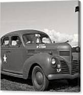 Us Army Dodge Staff Car Canvas Print