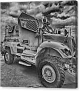 Us Army Troop Carrier Canvas Print