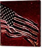 Us Flag Canvas Print