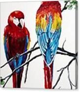 Us Friends  Canvas Print
