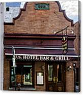 Us Hotel Bar And Grill - Manayunk  Canvas Print