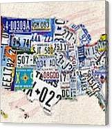 Us License Plate Map by Helena Kay