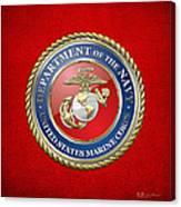 U. S. Marine Corps - U S M C Seal  Canvas Print