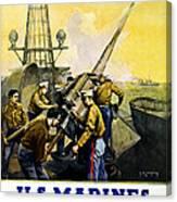 Us Marines Canvas Print