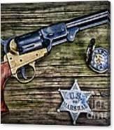 Us Marshall - American Justice - Cowboy Canvas Print