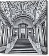 Us Naval Academy Bancroft Hall II Canvas Print