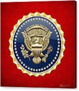 Presidential Service Badge - P S B Canvas Print