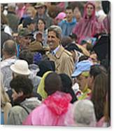 U.s. Senator John Kerry, Amidst Canvas Print