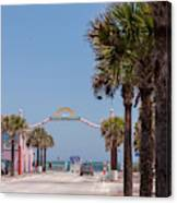 Usa, Florida, New Smyrna Beach, Flagler Canvas Print