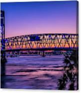 Usa, Jacksonville, Florida Canvas Print