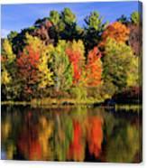 Usa, New Hampshire, Moultonborough Canvas Print