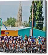 Usa Pro Challenge Bike Race Montrose Colorado Canvas Print