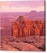 Usa, Utah, Canyonlands National Park Canvas Print