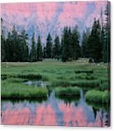 Usa, Utah, High Uintas Wilderness Canvas Print