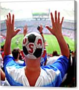 Usa V Japan Final - Fifa Womens World Canvas Print