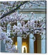 Usa, Washington Dc, Jefferson Memorial Canvas Print