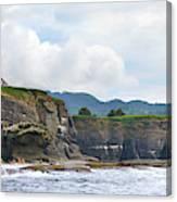 Usa Washington State Sea Kayakers Canvas Print