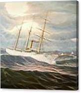Uscgc Alexander Hamilton Canvas Print