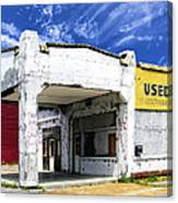 Used Cars Canvas Print