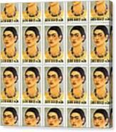 Usps  Frida Kahlo Canvas Print