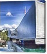Uss Arizona Memorial- Pearl Harbor Canvas Print
