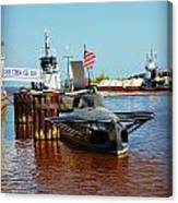 Uss Cobia Manitowoc Maritime Museum Canvas Print